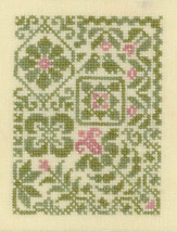 Springtime cross stitch chart Elizabeth's Designs  - $5.40