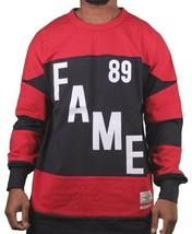 Hall of Fame HOF Bauer Navy Red #89 Long Sleeve Crew Neck Sweatshirt NWT