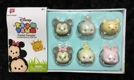 Disney Tsum Pastel Parade Exclusive Easter Set 6 Vinyl NEW 039897482088 - $14.03