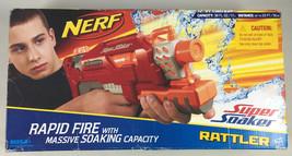 NEW Nerf Super Soaker Rattler RED Rapid Fire w/Massive Soaking Capacity ... - $48.99