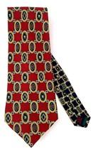 Tommy Hilfiger Red with Hilfiger Crest Neck Tie - $11.99