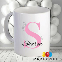 Personalised Monogram Initial Mug • Your Name, Your Initial • Great Gift - $8.61