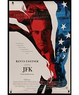 "JFK - 27""x40"" D/S Original Movie Poster One Sheet 1991 Oliver Stone Kennedy - $48.99"