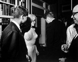 John Kennedy Robert Marilyn Monroe 11X14 Matted BW Historical Memorabili... - $13.99