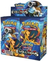 Pokemon TCG Evolutions Booster Box Case 6 Booster Boxes Sealed XY12 image 2
