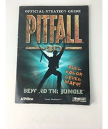 Pitfall 3D Official Strategy Guide Brady Games Activision Sony Playstation - $5.99