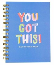 Greenroom You Got This Health and Fitness Tracker Wellness Journal Book