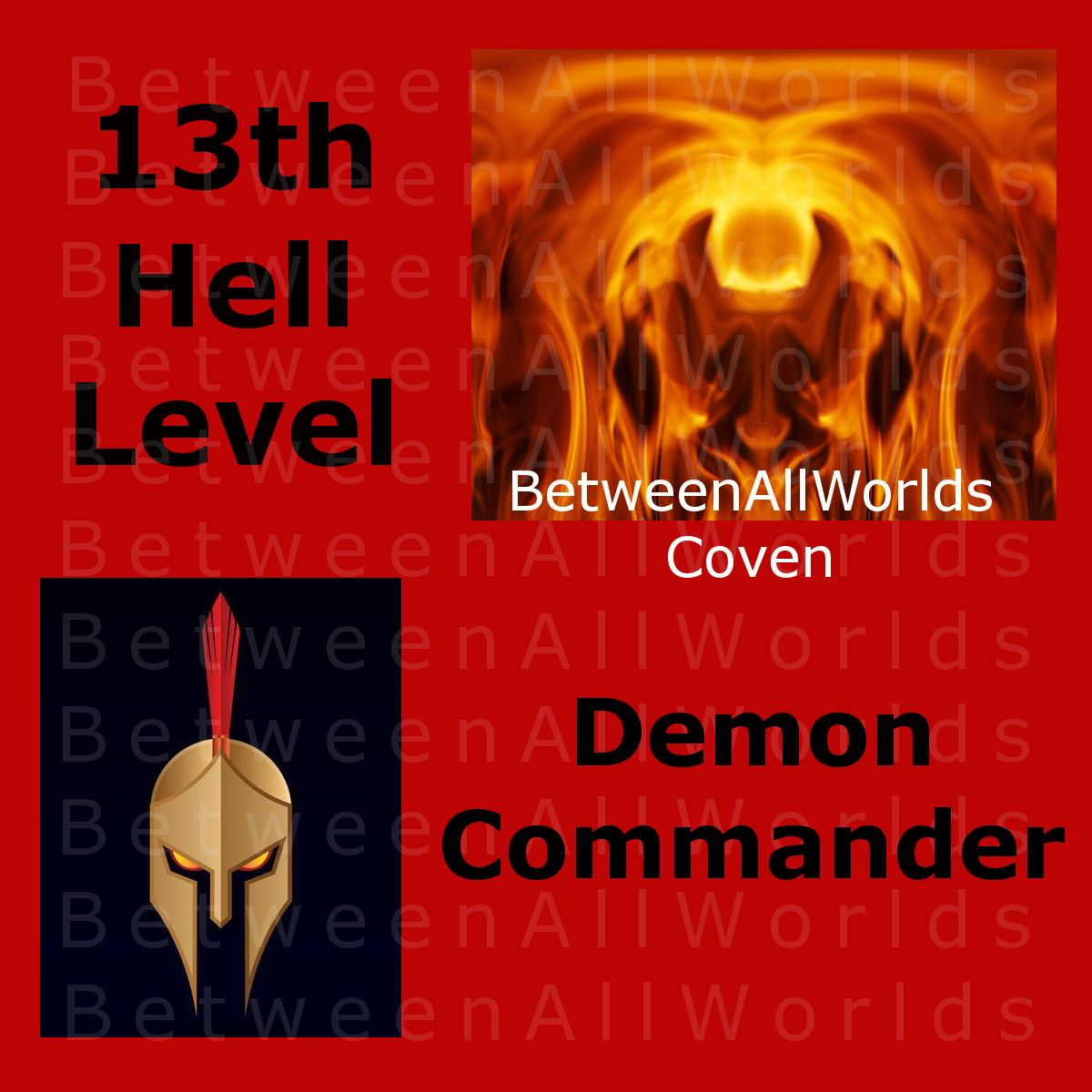 jmk spr Rare Demon Commander From Hell & His Dark Demon Army Betweenallworlds   - $159.00
