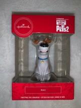 Hallmark The Secret Life of Pets 2 Max Puppy Dog Christmas Holiday Ornam... - $15.00
