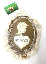 Kurt Adler Lace Plaque Ornament (Daughter) - $14.85