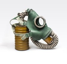 Gas mask GP4 Size 2 MEDIUM Gasmask Russian gas mask Soviet gas mask. Sca... - $35.00