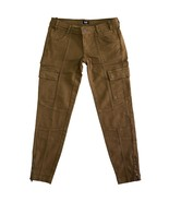 Auth Dolce & Gabbana D&G Brown Cropped Trousers pants w. ankle zipper 38 - $146.09