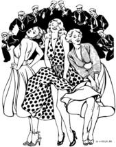 Folkwear Blonde Bombshell #239 Sundress 1950's Dress Sewing Pattern folkwear239 - $16.95