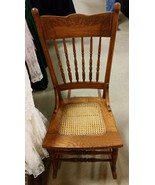 Antique Oak Rocking Chair  - $125.00