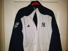 MLB Youth Adidas New York Yankees Full Zip Long Sleeve Jacket SZ 14/16 - $23.76