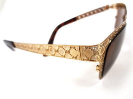 GUCCI Women's Sunglasses GG4267 Metal Gold 54-16-135 MADE IN ITALY - New! - $199.95