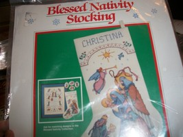 Dimensions Blessed Nativity Stocking Kit 8358 - $30.00