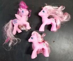 My Little Pony 3 Toys 2 Pinky Pie Pegasus Star Cutie Mark G3 2007 - $9.98