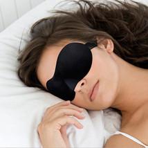 Men&Women 3D Padded Blindfold Eye Mask Soft Travel Sleep Aid Glass Shade... - $2.09 CAD