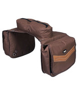 12 In Tall X 12 In Wide Tough 1 Elite Insulated Horse Saddle Bag Brown U... - $57.41