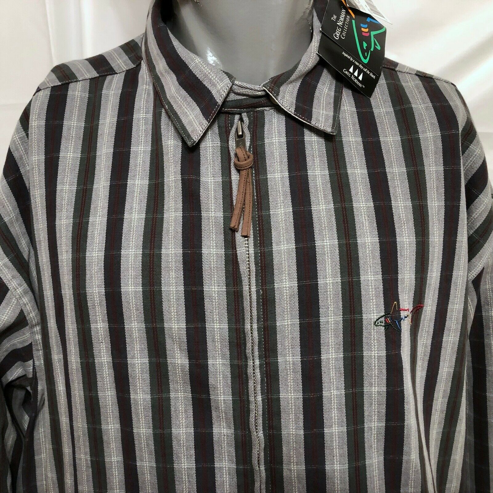 NWT VTG Deadstock Greg Norman Striped and 50 similar items