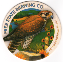 Cardboard Coaster (1)Collectible Man Cave/Craft Free State Brewing Co. B... - $3.91