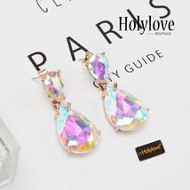Holylove Pierced Drop Dangle Earrings Women Jewelry Costume Party Ear St... - $29.90