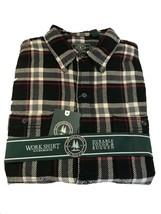 G.H. Bass & Co. Men's Flannel Plaid Work L/S Shirt Black - $29.99