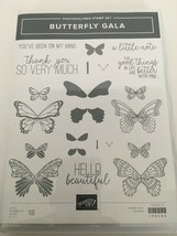 Stampin Up Butterfly Gala Photopolymer Stamp Set Thanks So Much Insects ... - $24.99