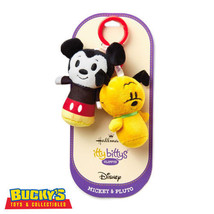 Mickey Mouse and Pluto Hallmark Disney itty bitty bittys Clippys Clubhou... - $19.79