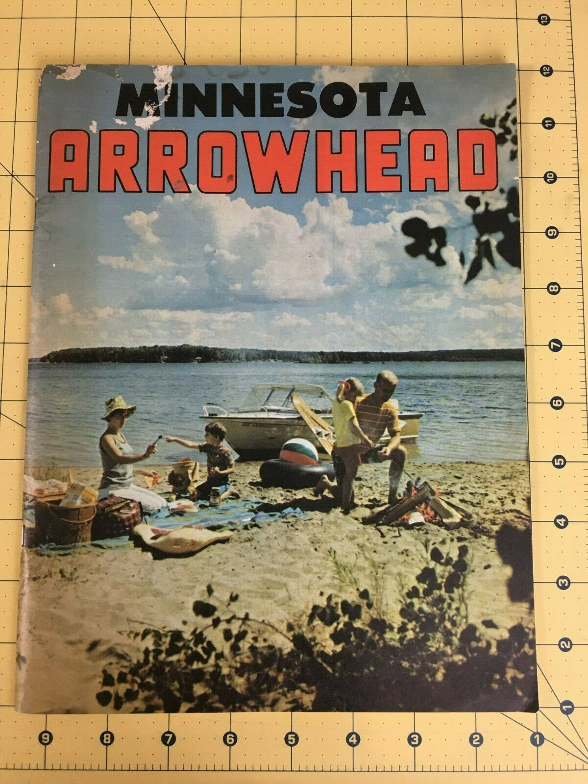 Vintage Minnesota Arrowhead Travel Vacation Magazine Advertisement 50' 60's