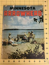 Vintage Minnesota Arrowhead Travel Vacation Magazine Advertisement 50' 60's image 1