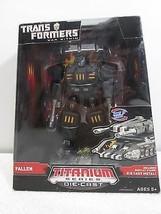 "Transformers Fallen & Megatron Die Cast Titanium 5.5"" Figure - Hasbro 20... - $46.44"