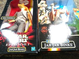 "STAR WARS Bundle, EPISODE 1, 12"" JAR JAR BINKS ACTION FIGURE - - $33.62"