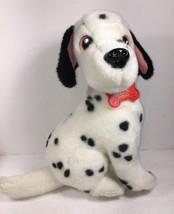 Vintage Mattel PONGO Plush 101 Dalmatians Dog 12in Upright Black White 1996 - $27.50