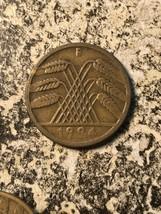1924-e Alemania 10 Rentenpfennig (3 Disponibles) Circulación (1 Moneda S... - $3.98