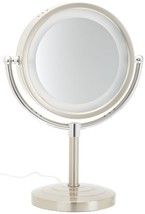 Jerdon HL745NC 8.5-Inch Halo Lighted Vanity Mirror with 5x Magnification... - $76.51