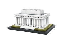 Architecture Mini Lincoln Memorial World Famous Building Blocks fit LEGO - $39.90