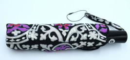 Vera Bradley Travel Umbrella Automatic button Scroll Medallion - $24.98