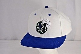 Dallas Mavericks White/Blue Baseball Cap Snapback - $21.11
