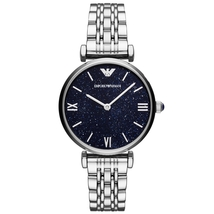 Ar11091 Armani Analogue Quartz Blue Dial Bracelet Women's Watch - $178.00