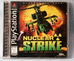 Nuclear Strike Black Label (Sony PlayStation 1, 1997) COMPLETE  - $7.43