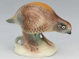 Vintage Brad Keller California Pottery Quail Bird Figurine image 1