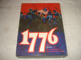 1776 The Game of the American Revolutionary War Avalon Hill 1974 - $29.99
