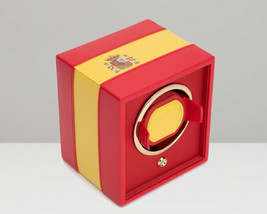 WOLF Navigator Spanish Flag Single Cub Watch Winder 471804 Spain - $215.00