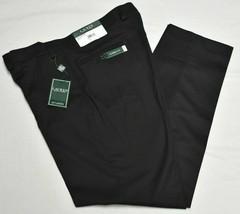 Ralph Lauren Dress Pants Men 36x32 Classic Fit Total Comfort Stretch Bla... - $38.95