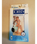 Jobst 15-20 mmHg* Silicone Band Moderate Compression Thigh High Blk 1223... - $39.55