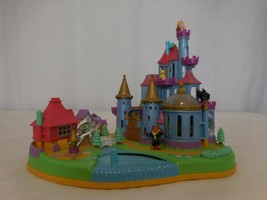 Polly Pocket Beauty and the Beast Disney's Belle Magical Castle Vintage - $232.66
