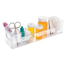 mDesign Bathroom Medicine Cabinet Organizer, for Medical Supplies, Banda... - $13.47