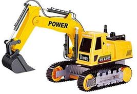 Tokids Toys Wired Remote Control Excavator Construction Heavy Equipment Vehicle